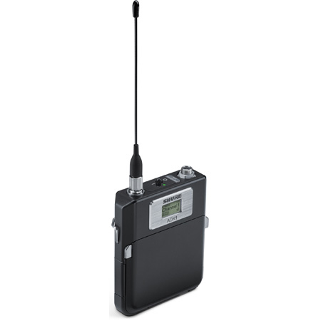 Shure ADX1LEMO3-G57 Diversity ShowLink-Enabled Bodypack Transmitter with 3-pin LEMO Connector 470-616 MHz