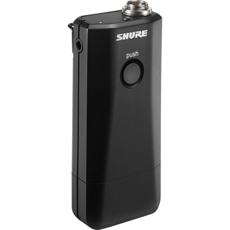 Shure MXW1/O Bodypack Transmitter with Integrated Omnidirectional Microphone - Li-ion Battery Included