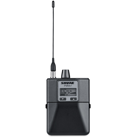Shure P9RAplus PSM 900 Rechargeable Bodypack Receiver - Frequency G10 470-542MHz
