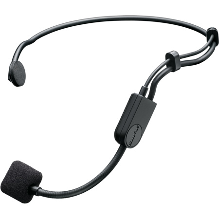 Shure PGA31-TQG Headset Cardioid Condenser Microphone with Windscreen