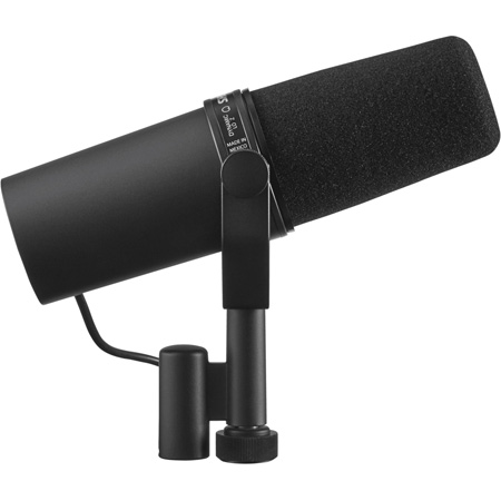 Shure SM7B Dynamic Cardioid Broadcast/Voiceover/Pro Recording/Podcast Microphone