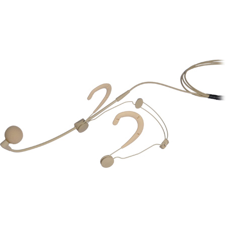 Shure WBH54T BETA 54 Supercardioid Condenser Headworn Microphone - Tan - 4 Pin Mini Connector (TA4F)