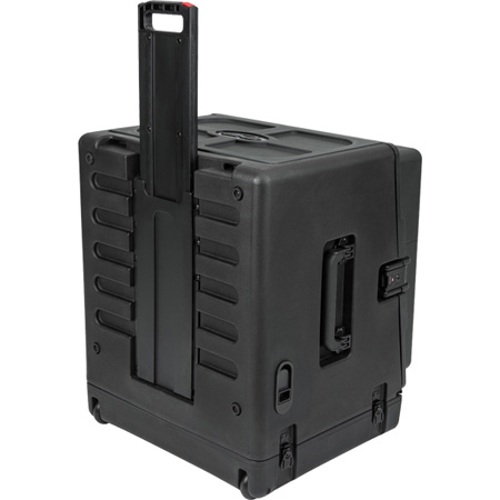 SKB 1SKB-R106W 10 x 6 Compact Rolling Rig - standard 10U Top and 6U Front and Rear Rack Rails