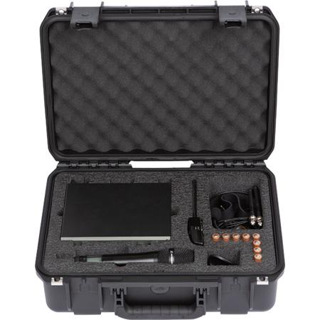SKB 3I-1711-SEN iSeries Injection Molded Case for Sennheiser EW100/300/500/IEM Wireless Mic Series