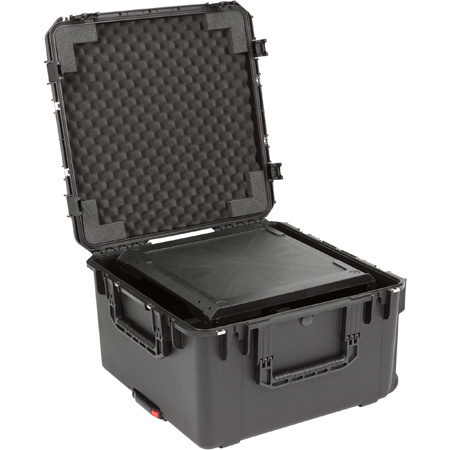 SKB 3i-2424M146U 6U iSeries Injection Molded Fly Rack - 20 Inch - Built-in Wheels and Pull Handle
