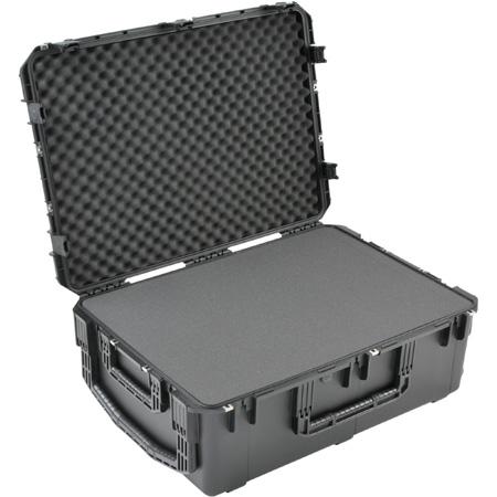 SKB 3I-3424-12BC 34 Inch x 24 Inch x 12 Inch Waterproof Case with cubed foam & Wheels