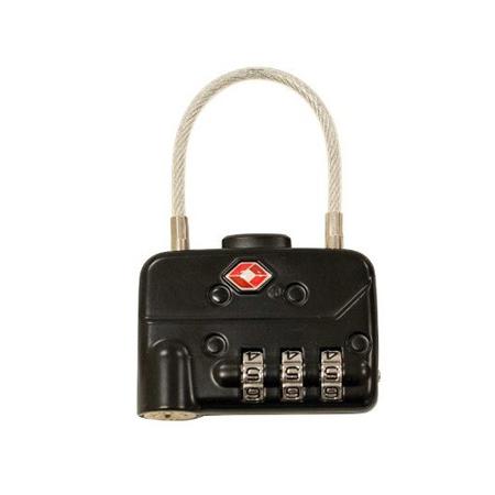 SKB 1SKB-PDL-C TSA Pad Cable Locks (2-pack)