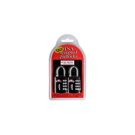 SKB 1SKB-PDL 2 Pack TSA Accepted Dial Type Pad Locks