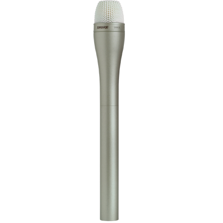 Shure SM63L Dynamic Handheld ENG Microphone with Extended Handle - Champagne