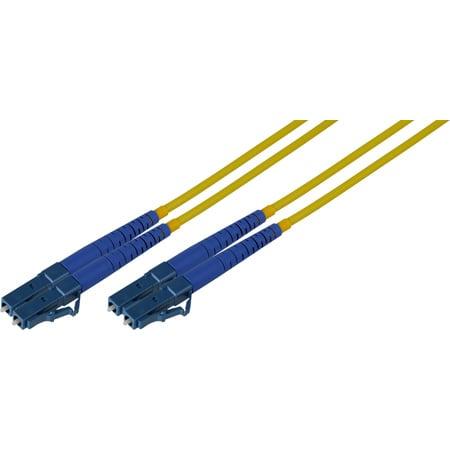 10-Meter 9u/125u Fiber Optic Patch Cable Single Mode Duplex LC to LC - Yellow