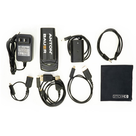 SmallHD ACC-FOCUS5-DMWBLF19-PACK FOCUS Monitor Accessory Pack with Panasonic DMW-BLF19 Battery Adapter Cable - Li-Ion
