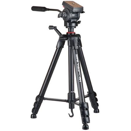 Sunpak Video Pro M4 Tripod with Fluid Head and Spreader