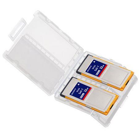 Sony 2SBS32G1CSxS-1 32GB 2PK G1B Memory Card Read 440MB/s Write 100MB/s