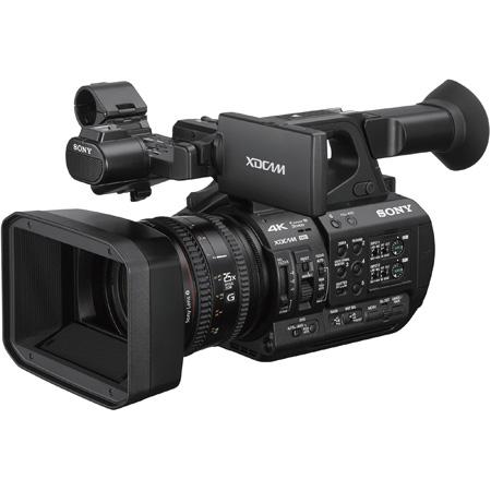 Sony PXWZ190 4K 3-CMOS 1/3 Sensor XDCAM Handheld Camcorder