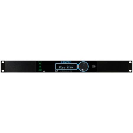 Sonifex AVN-GMCOS PTP Grandmaster Clock GPS IP TXCO - Rackmount