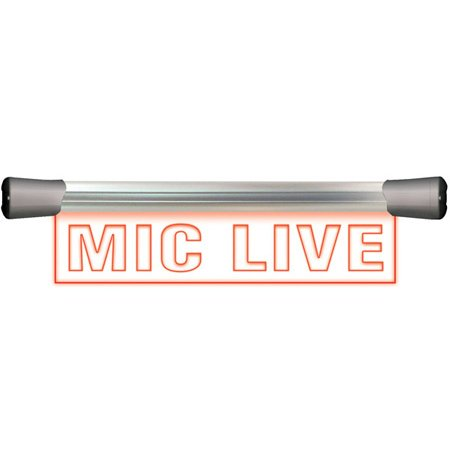 Sonifex LD-40F1MCL Single Flush Mounting 40cm MIC LIVE Sign