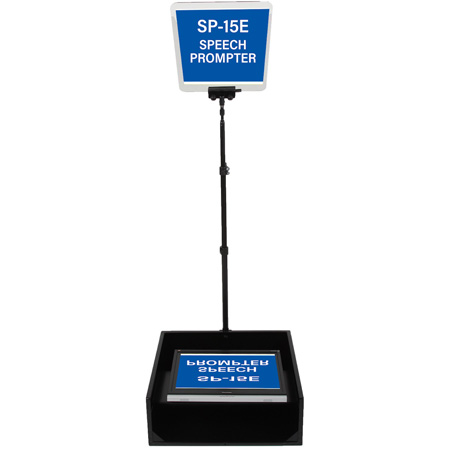 Mirror Image SP-15 E SVGA / HDMI / NTSC 15 Inch LCD Speech Teleprompter System