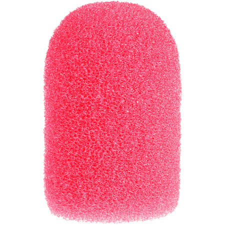 WindTech 1400 Series Model 1420 Neon Pink Windscreen for Aviation/Military and Aerobic type Microphones