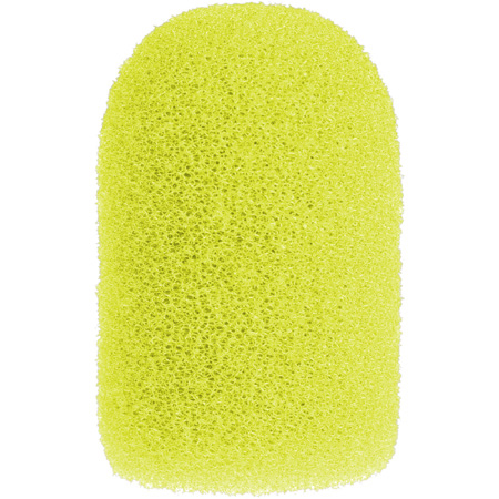 WindTech 1400 Series Model 1421 Neon Yellow Windscreen for Aviation/Military and Aerobic type Microphones