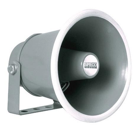 Speco SPC-10/4 6in 4 ohm Weatherproof PA Speaker