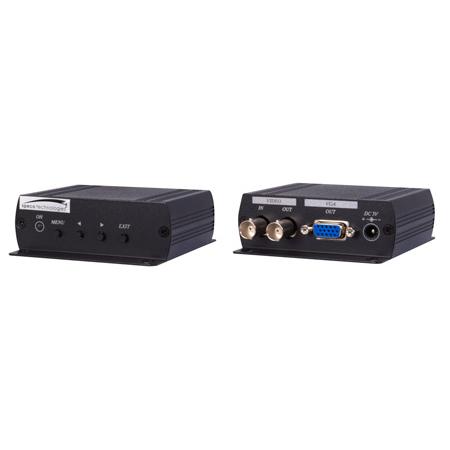 Speco BNCVGAHR High Resolution Composite to VGA Monitoring Adapter