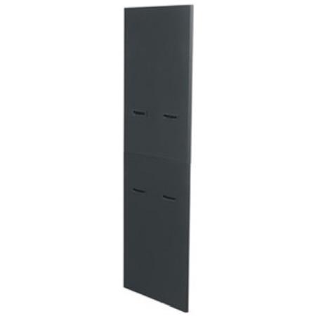 Pair of Side Panels Fits MRK-3726 & WRK-37-27 Black Finish