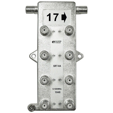 SRT Series Indoor 1GHz Taps for Directional Couplers 17 dB
