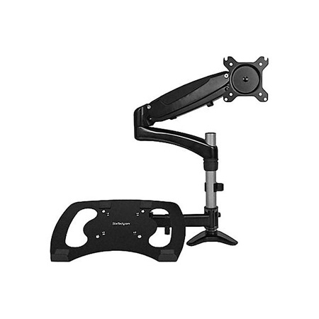 Startech ARMUNONB Monitor & Laptop Arm - Supports up to 27- Inch monitor