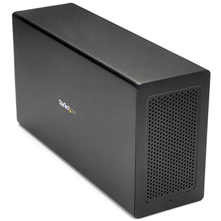 StarTech TB31PCIEX16 Thunderbolt 3 PCIe Expansion Chassis with DisplayPort - PCIe x16