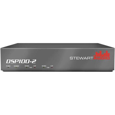 Stewart DSP100-2-LZ 2 Channel DSP-Enabled Amplifier 2 x 100W @ 4/8 Ohms