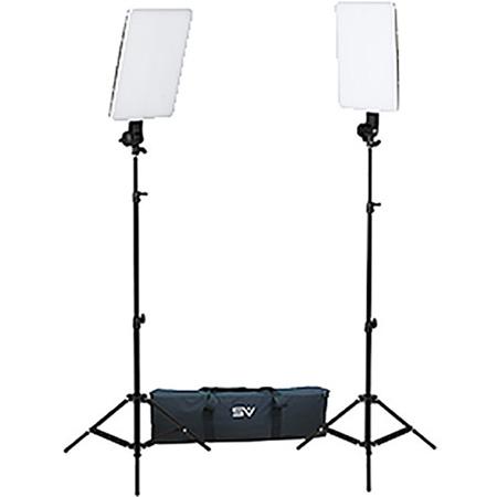 Smith Victor 401619 Slim Panel 800W Daylight LED 2 Light Kit