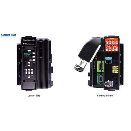 MultiDyne SilverBack-VB Camera Back 12G / 3G-SDI Transceiver with LEMO SMPTE-304M Connector - V-Mount