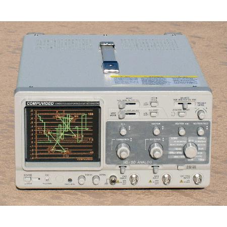 Digital/Analog Component/Composite Waveform Monitor
