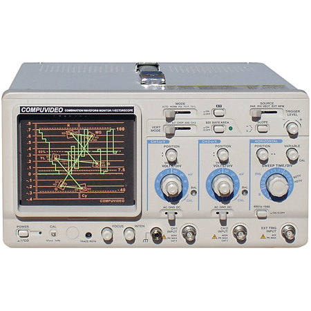 Compuvideo SVR-1750HDSD Digital Multi-SDI Waveform Monitor and Vectorscope