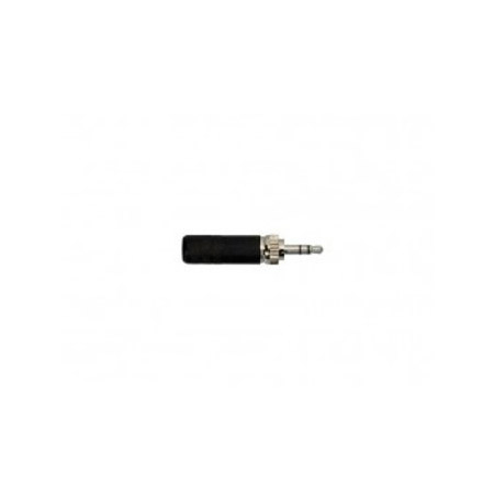 Switchcraft 35HDLBNS 3.5MM Locking Stereo Plug Black Handle Nickel Plug 0.175in