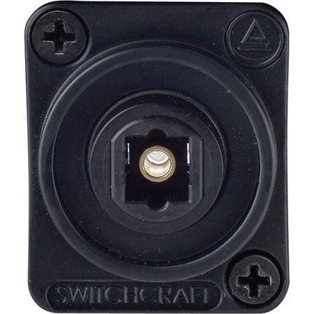 Switchcraft EHTL2 Toslink Feed-Thru Connector For Panel Mounting