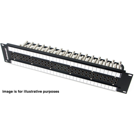 Switchcraft MVP32K3NT 2RU 2x32 Midsize Video Patchbay - Normalled / Non-Terminated