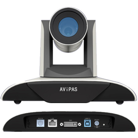 AViPAS AV-1362 Full HD 1080p USB 3.0 Video Conferencing Camera with 20x Zoom & 10x Digital Zoom