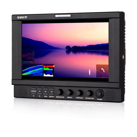 SWIT S-1093FB 8.9 Inch Full HD Waveform Monitor with Panasonic VW-VBG6 Battery Plate