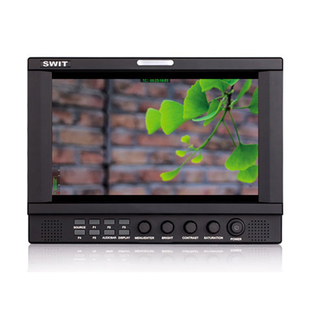 SWIT S-1093H On-Camera Monitor 8.9in 3GSDI/HDMI 1920x1200 With Carry Case and BP-U60 Battery Mount