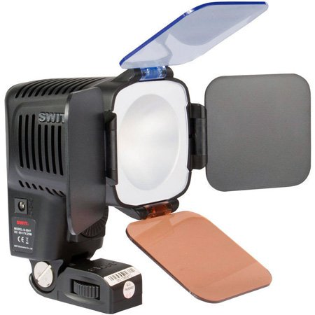 SWIT S-2041F LED On-Camera Light with Sony NP-F Battery Plate