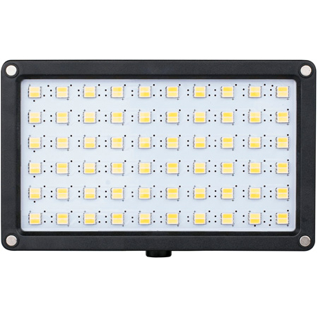 SWIT S-2240D 12W Bi-Color SMD On-Camera LED Light with Panasonic CGA and VW-VBD Battery Plates