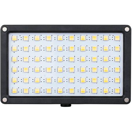 SWIT S-2240I 12W Bi-Color SMD On-Camera LED Light with JVC SSL-JVC50 Battery Plate