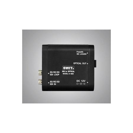 SWIT S-4605 3G/HDSDI to Optical Converter