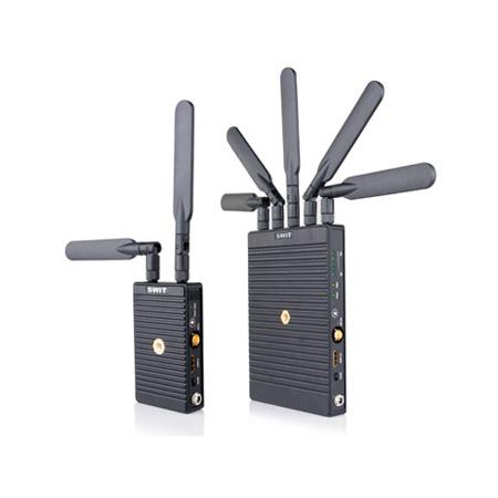 SWIT S-4914 TC/S-4914RA 700m 3GSDI/HDMI Wireless Transmission System: T w/ Canon BP-900 Series Plate & R w/ Gold-mount