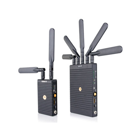 SWIT S-4914TD/S-4914RS 700m 3GSDI/HDMI Wireless Transmission System: T w/ Panasonic VW-VBD58 Plate & R w/ V-mount