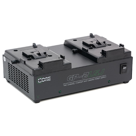 Core SWX 2-Position Simultaneous Chargers 12VDC 50W V-Type Mount
