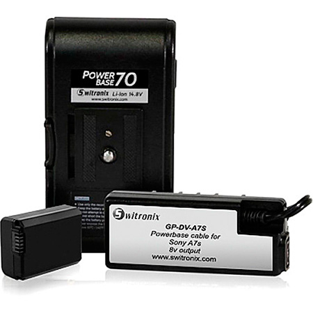 Core SWX PB70-A7S24 Li-Ion PowerBase 70 for Sony A7s - 24 Inch Cable