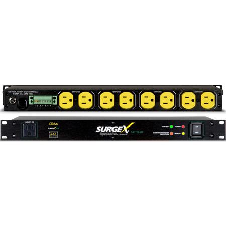 SurgeX SX1115RT Surge Eliminator & Power Conditioner 15A at 120 Volts