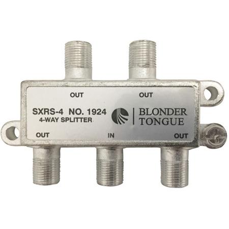 Blonder Tongue Solder Back 5-1000 MHz In-Line 4 Way RF Splitter